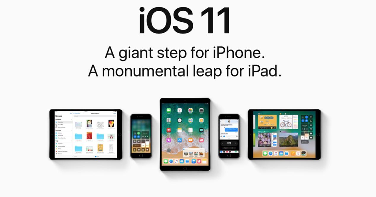 versión iOS 11 para iPhone y iPad