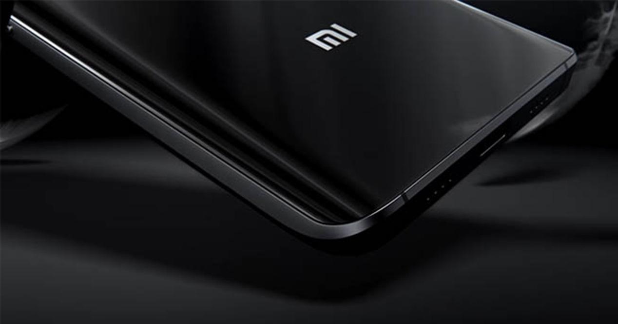 Logotipo de Xiaomi en el Xiaomi Mi 6