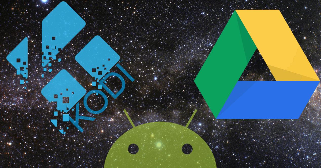 Android Kodi y Google Drive