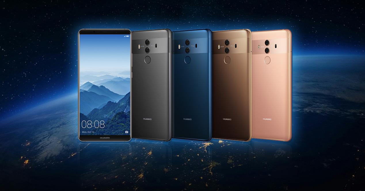 Colores disponibles para el Huawei Mate 10 Pro