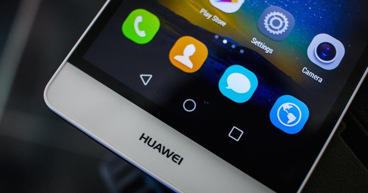 Frontal del Huawei P8 Lite