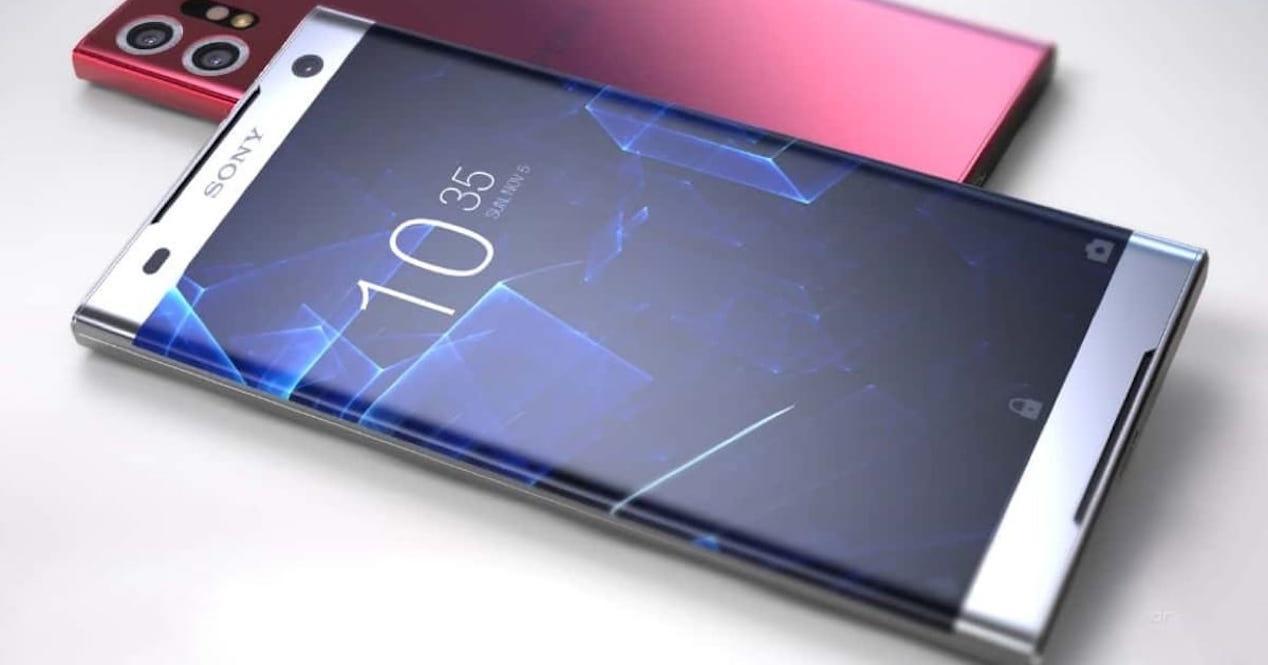 Sony Xperia sin marcos