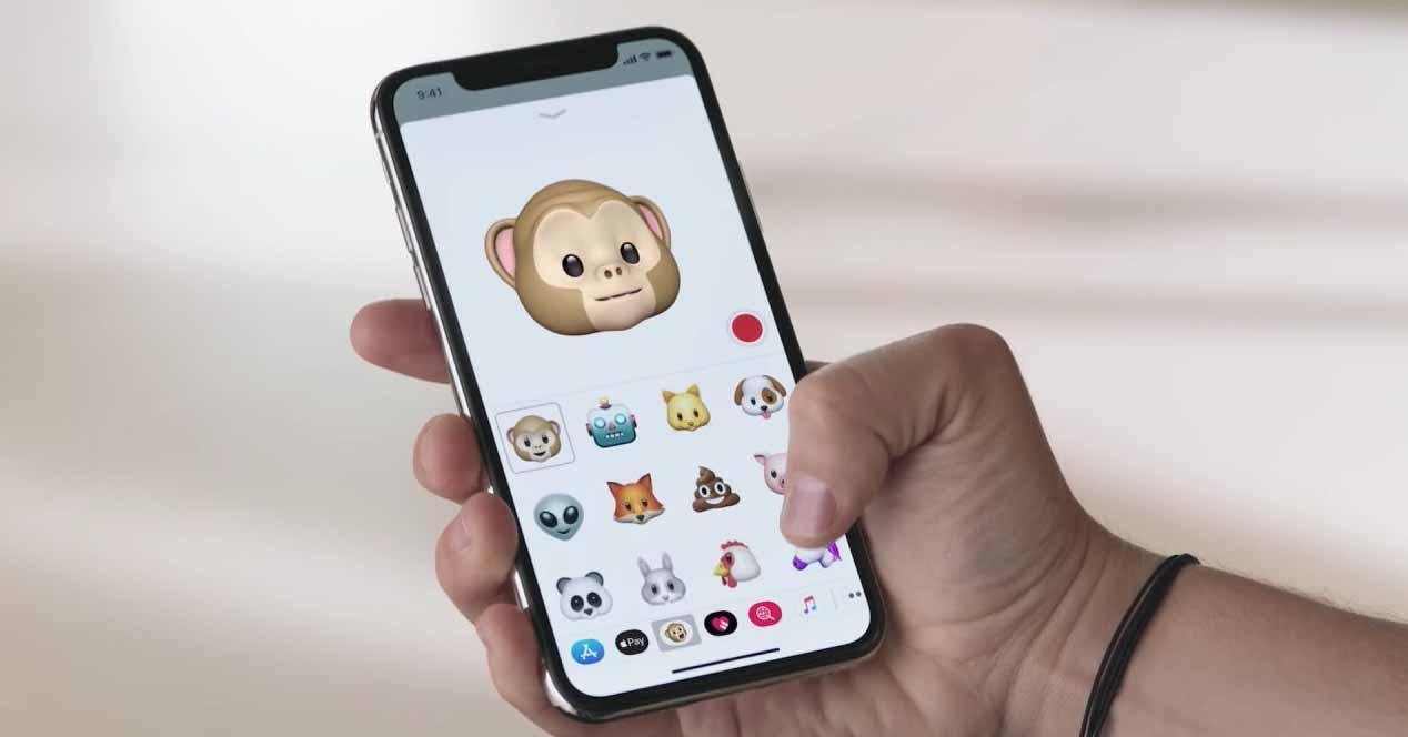 Animoji en Apple