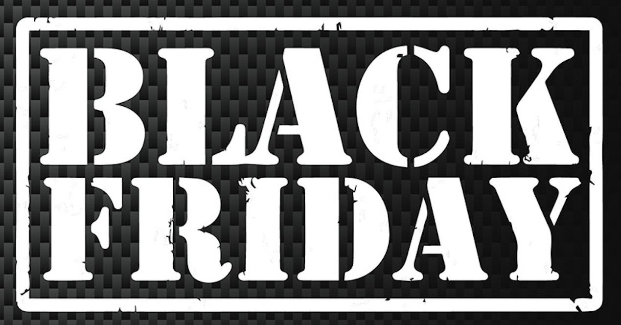 Black Friday fondo negro