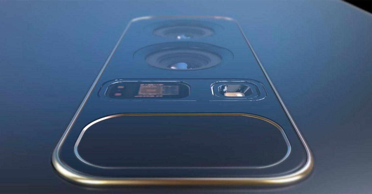 Doble cámara trasera para el Samsung Galaxy S9+