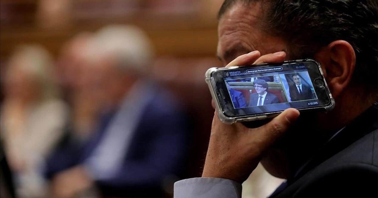 diputado smartphone