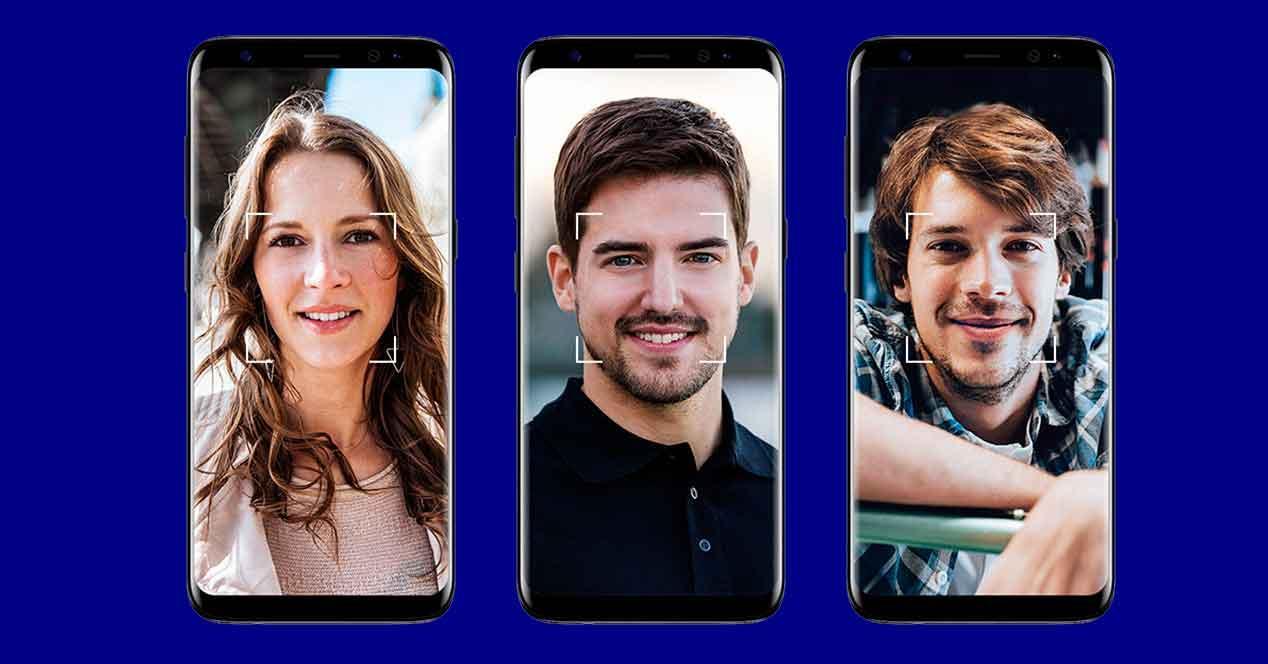 escáner facial en el Galaxy S9