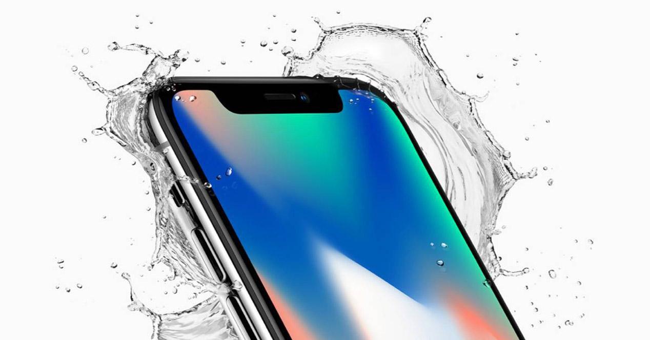 Frontal del iPhone X