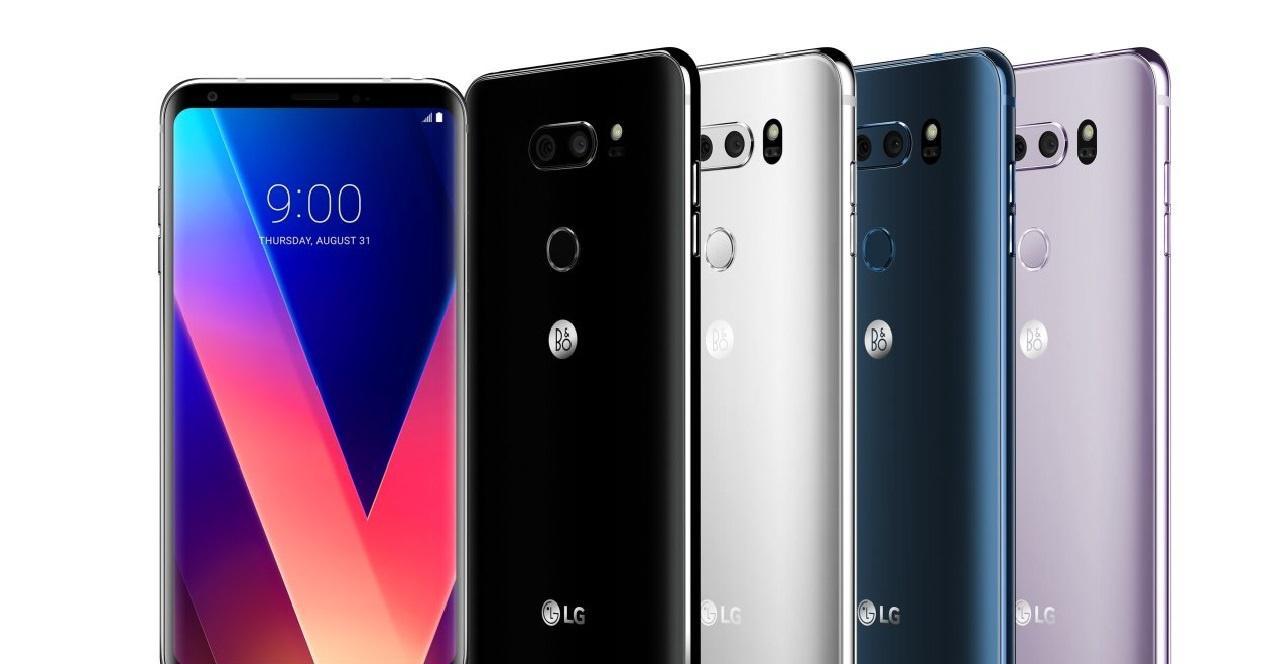 Colores del LG V30
