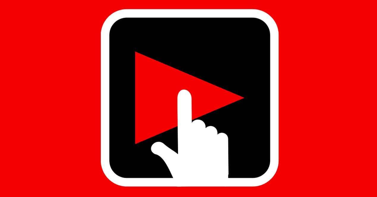 modo oscuro de Youtube