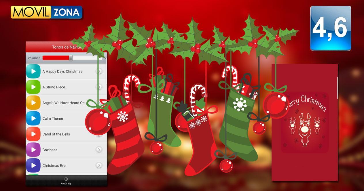 Tonos navidad aplicación