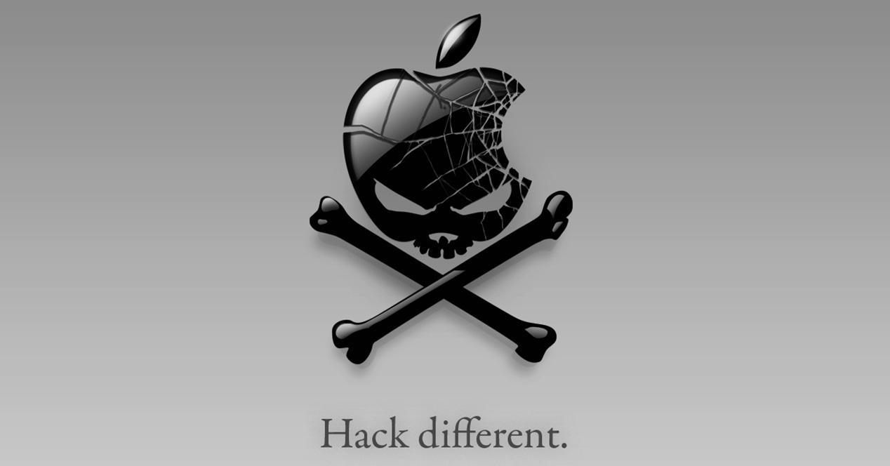 Icono de una caravela con el logo de Apple