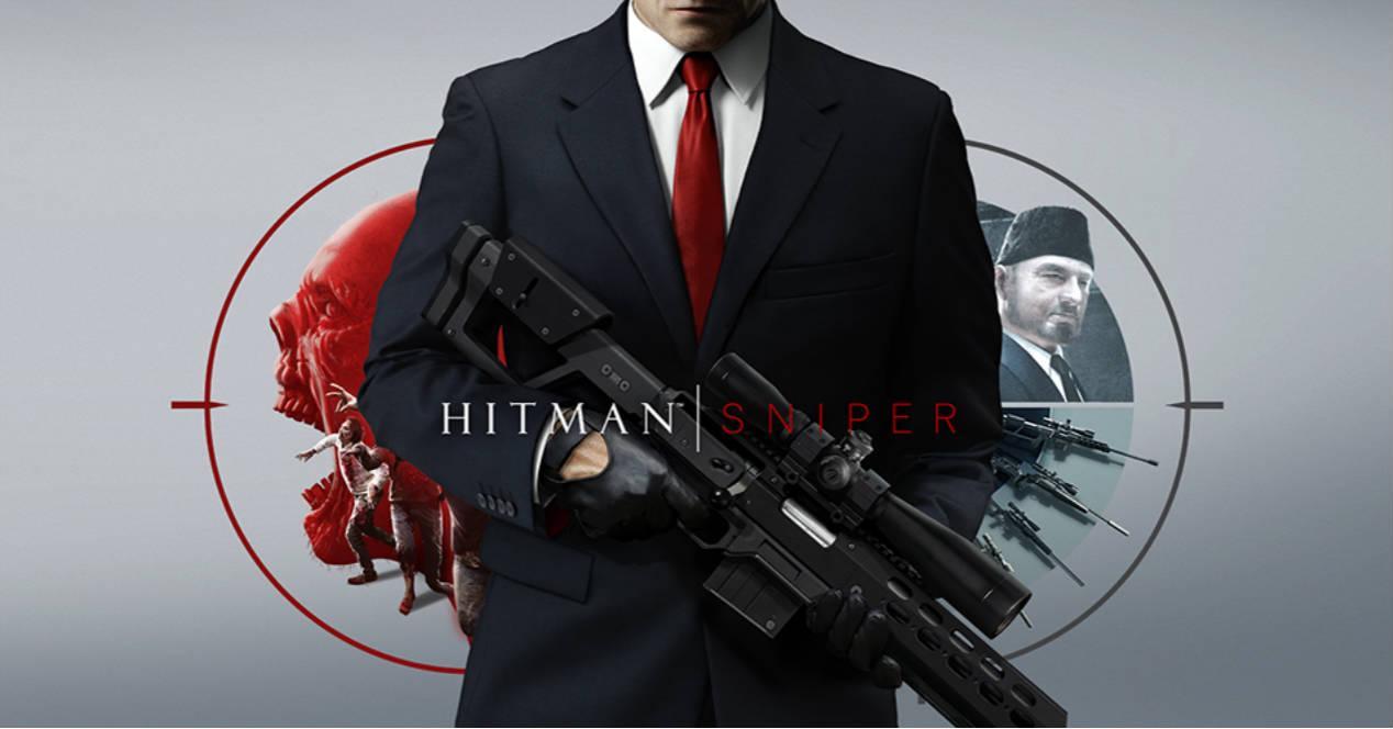 Hitman Sniper carátula