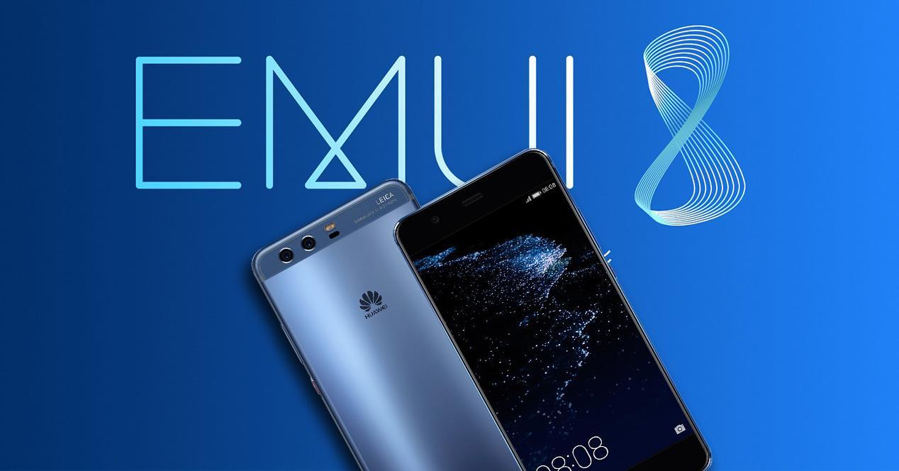 Huawei P10 con EMUI 8.0 y Android 8.0 Oreo