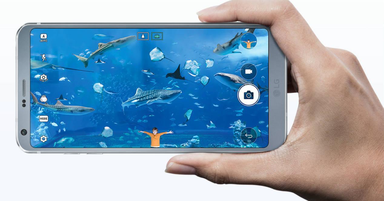 LG G6 18:9 display