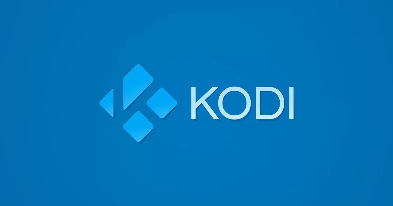 Logo Kodi Simple Azul