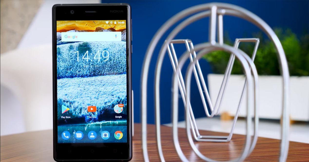 Pantalla HD del Nokia 3