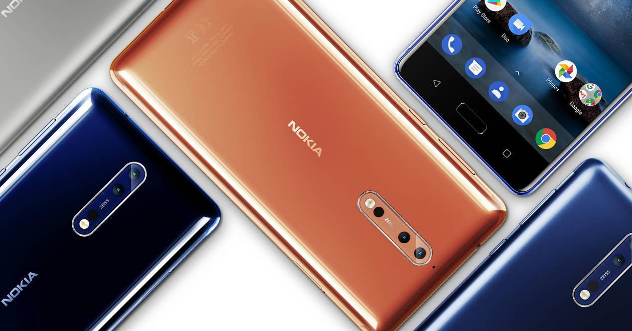 Nokia 8 colores