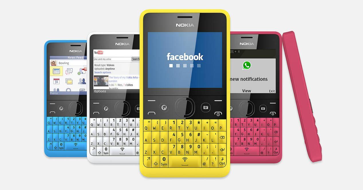 Nokia Asha 210 colores