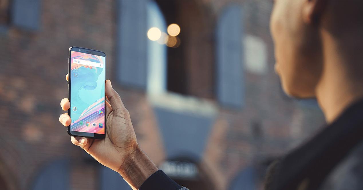 Reconocimiento facial del OnePlus 5