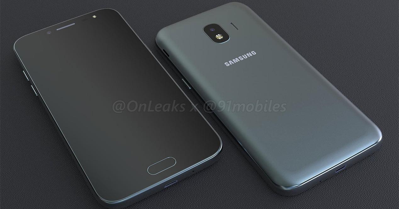 Render del Samsung Galaxy J2 Pro 2018