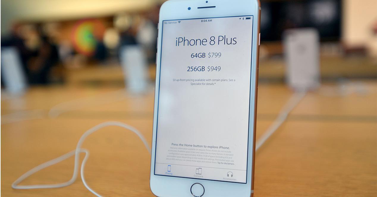 Tienda de Apple en la que se puede comprar el iPhone 8