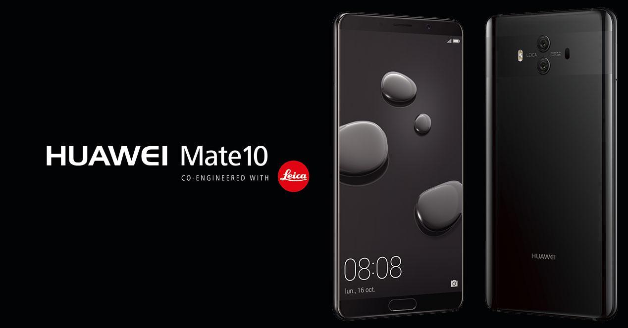 mate 10 negro