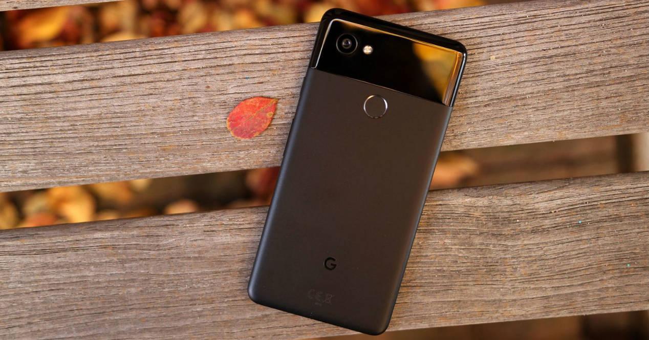 Parte trasera del Google Pixel 2 XL