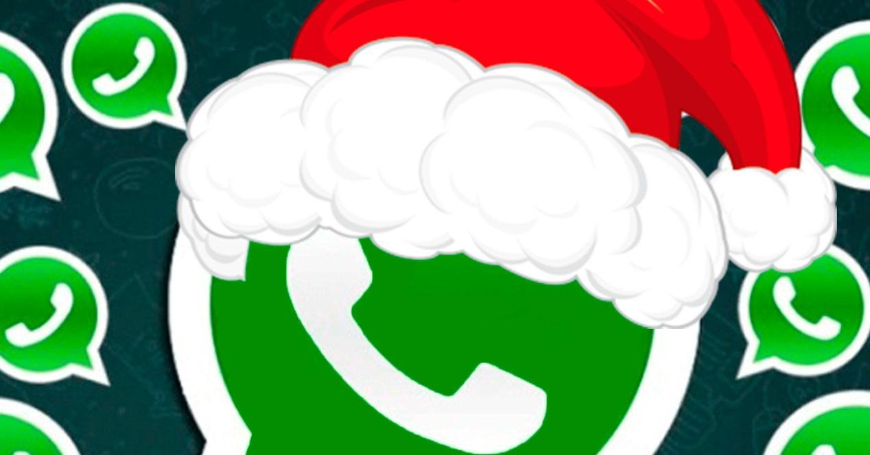 Trucos navideños WhatsApp