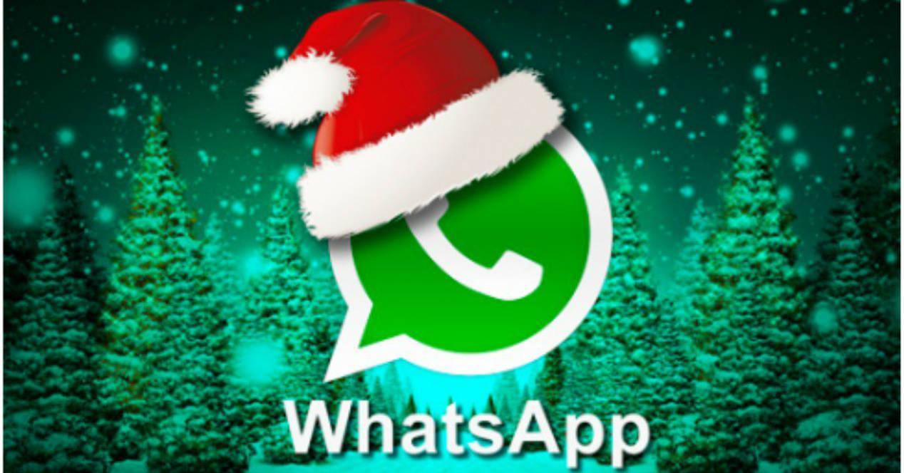 WhatsApp en Navidad