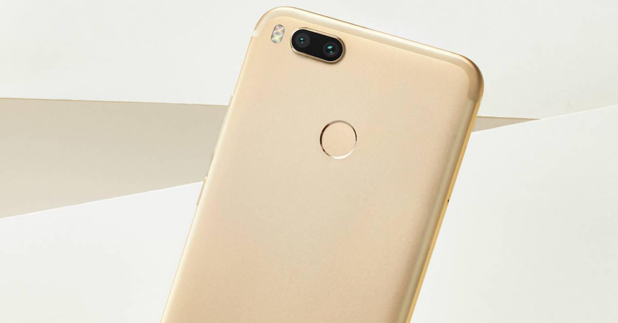 Xiaomi Mi A1 en dorado