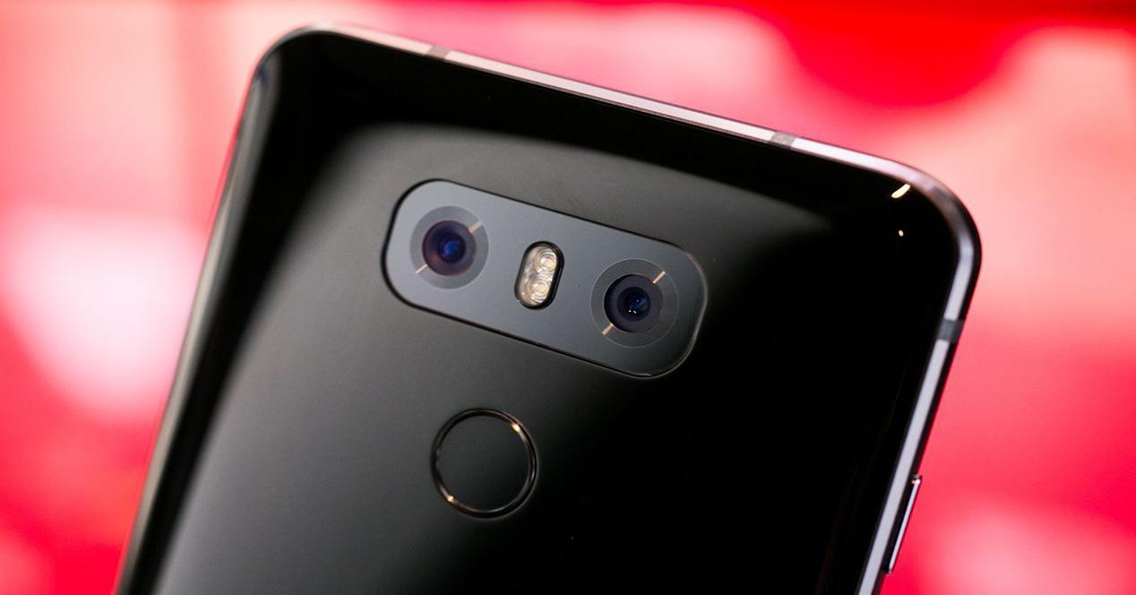 LG G6 por detrás