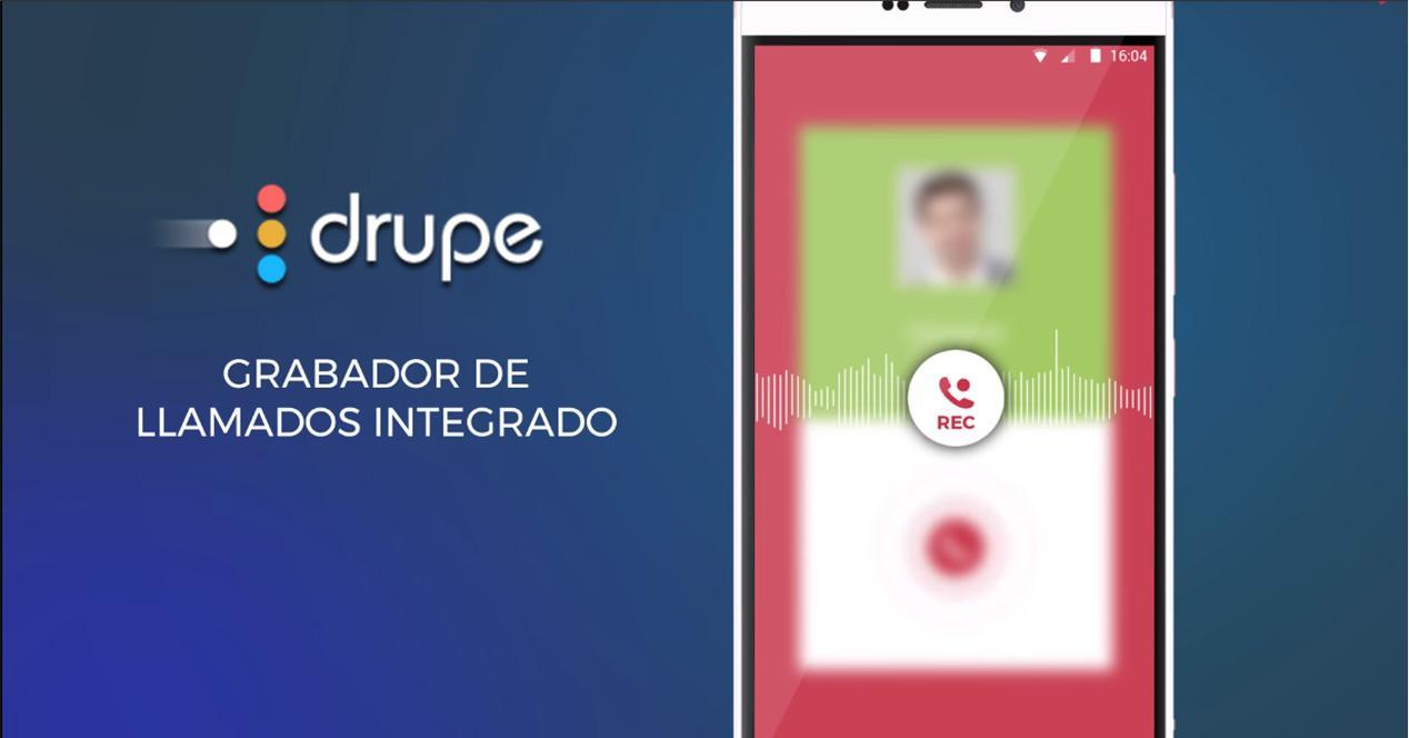 App Drupe para iOS y Android