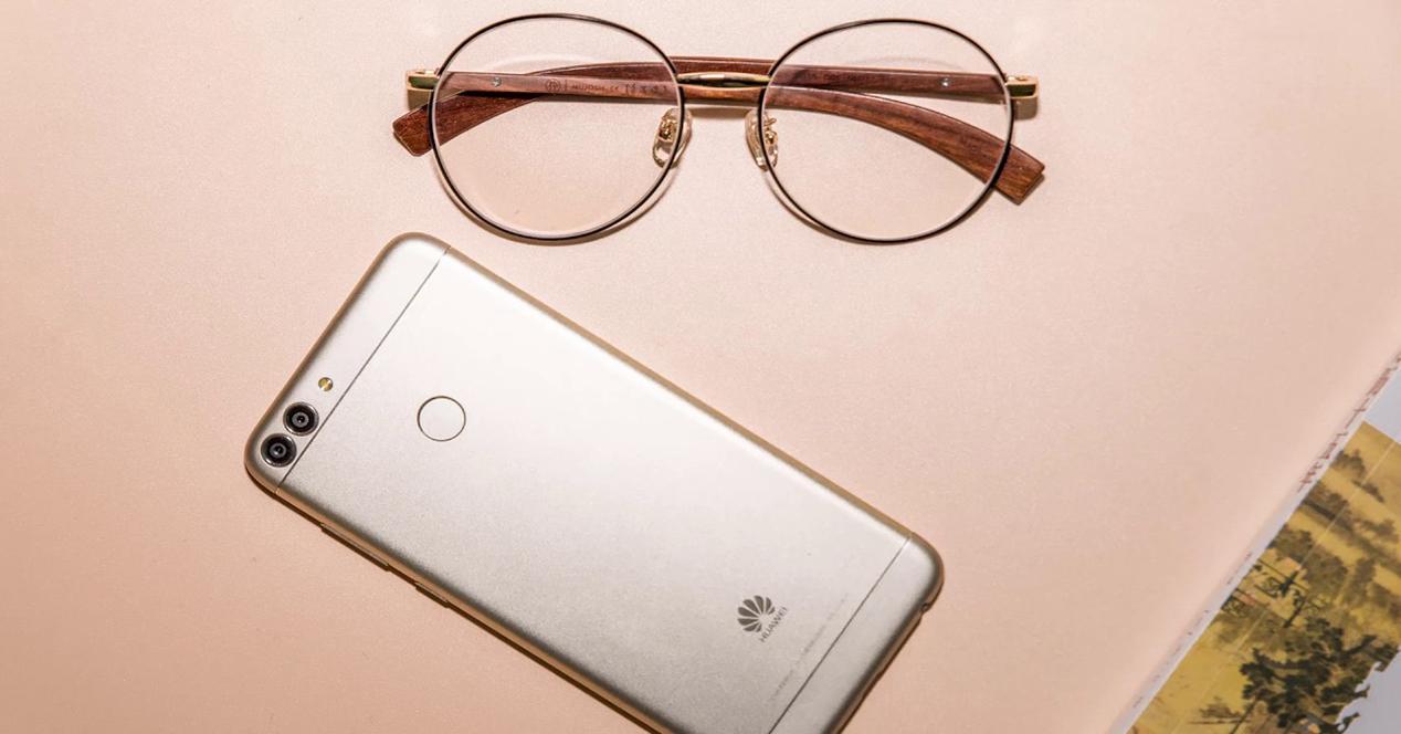 Huawei P Smart por detrás