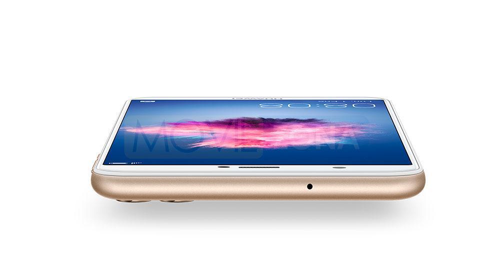 Huawei P Smart dorado conexión de auriculares