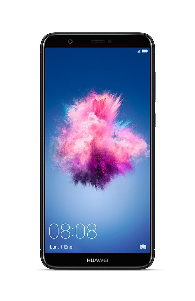 Huawei P Smart con pantalla encendida