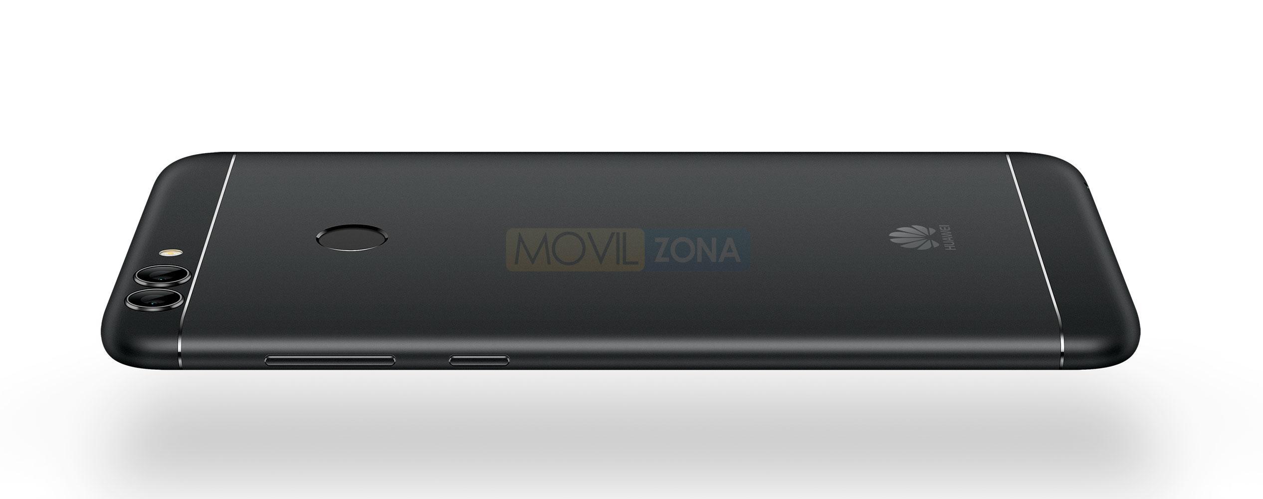 Huawei P Smart negro trasera