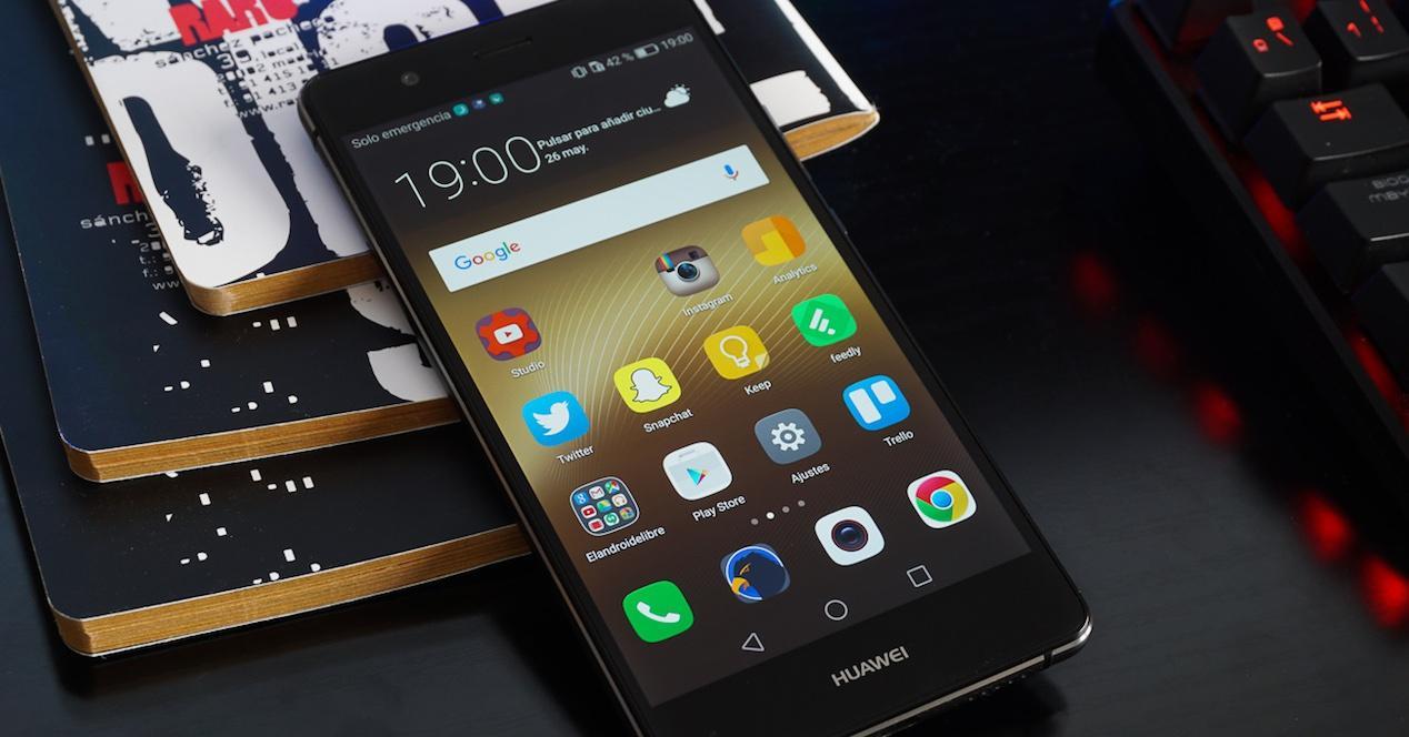 Huawei P9 Lite en color negro