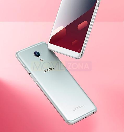 Meizu M6s plateado