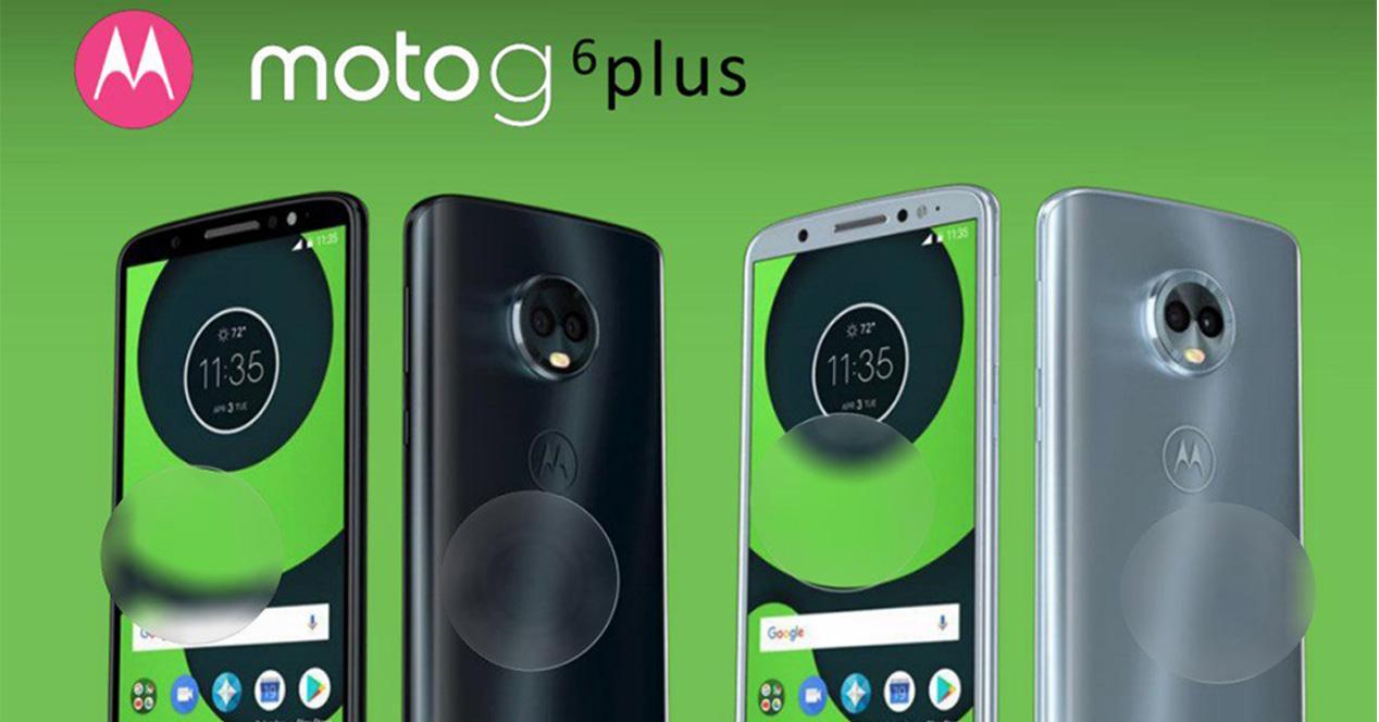 Filtración con información sobre el Moto G6
