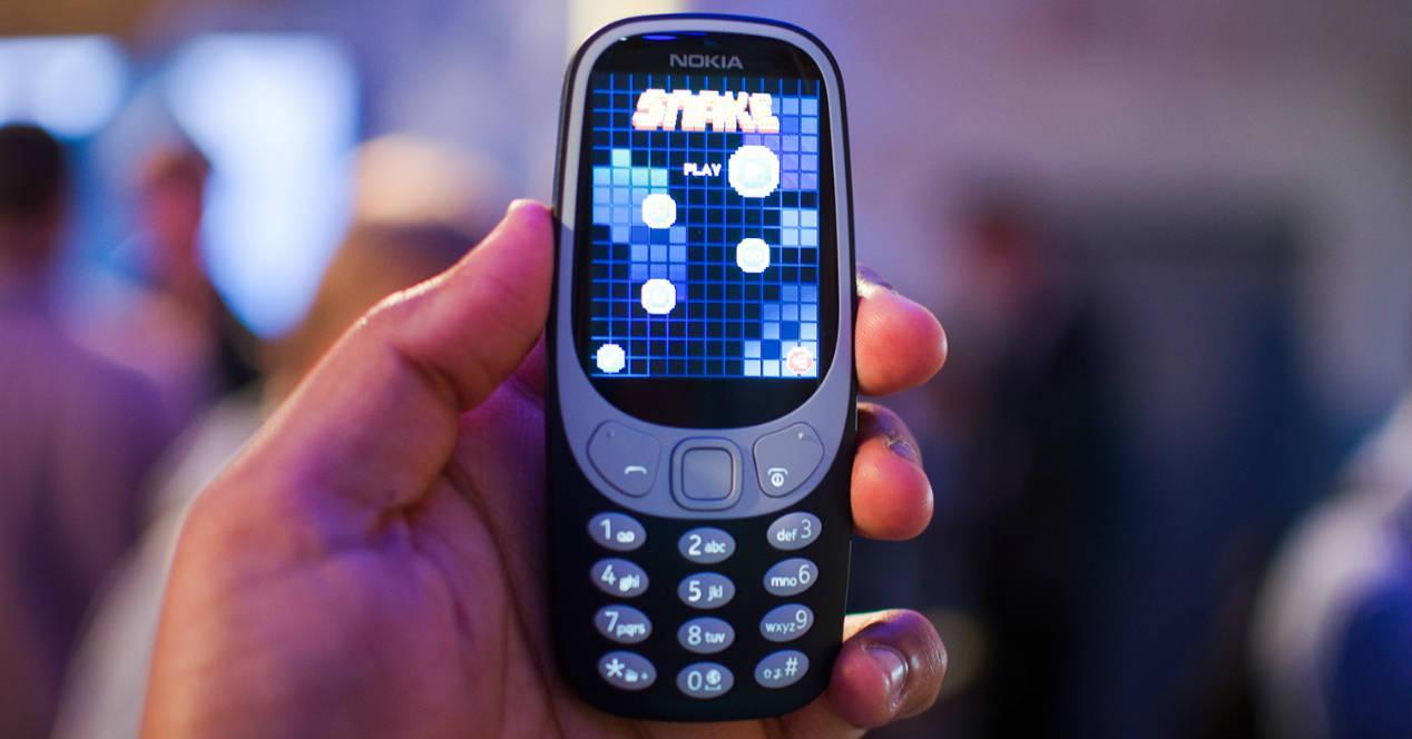 Nokia 3310 en gris