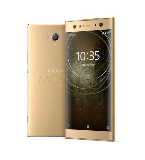 Sony Xperia XA2 Ultra dorado