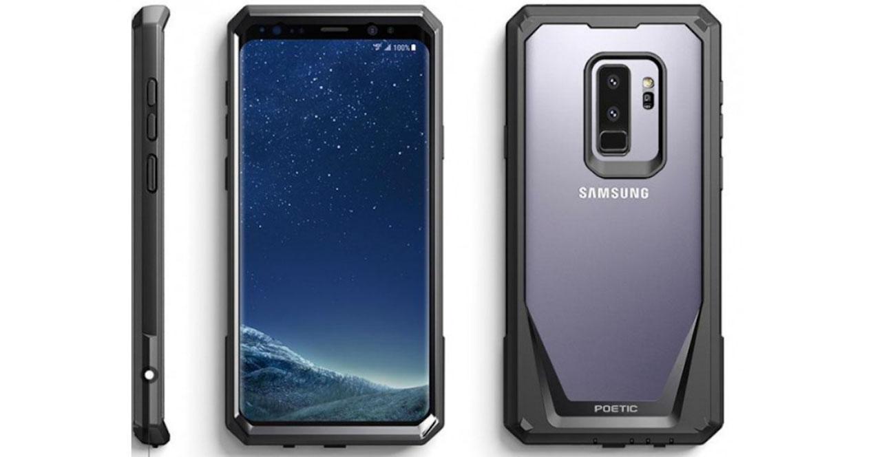 diseño samsung galaxy s9