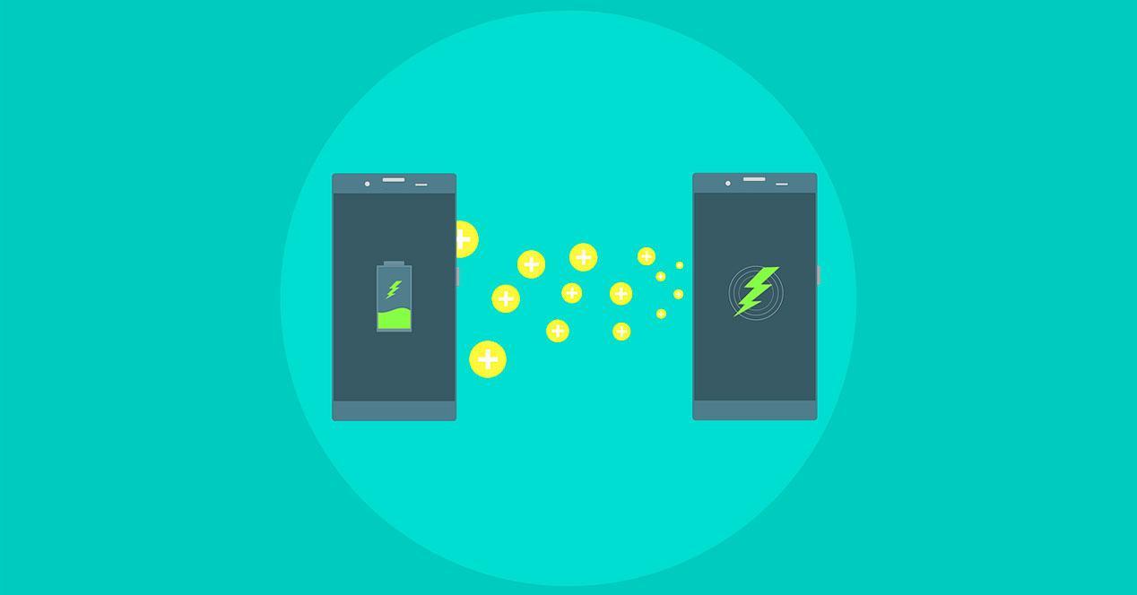 baterías de los móviles