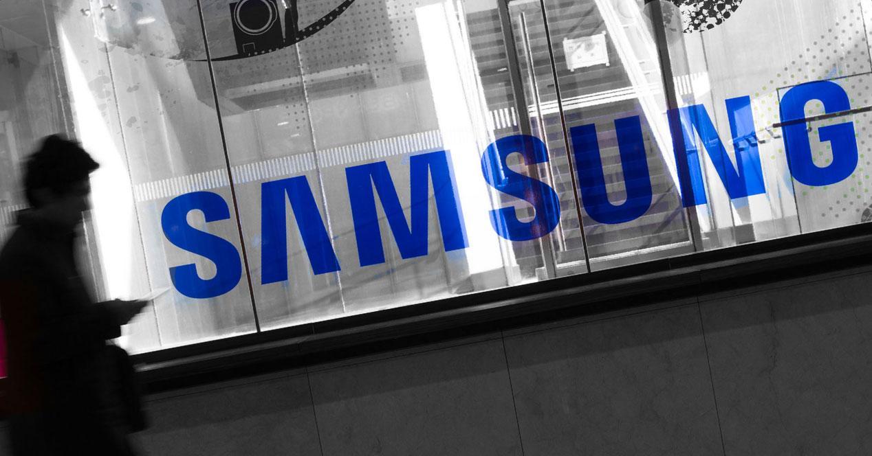 Samsung escaparate persona
