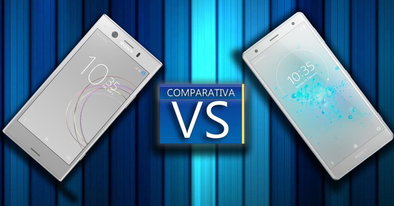 Comparativa smartphones Sony Xperia