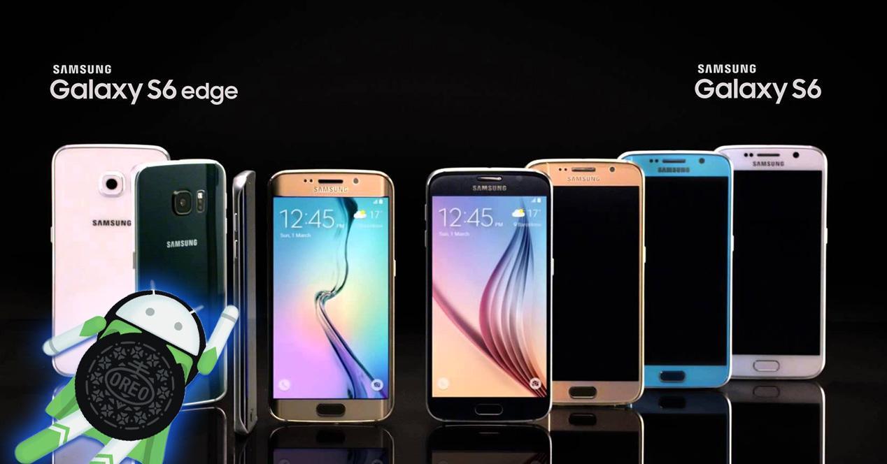 Oreo para la familia Galaxy S6