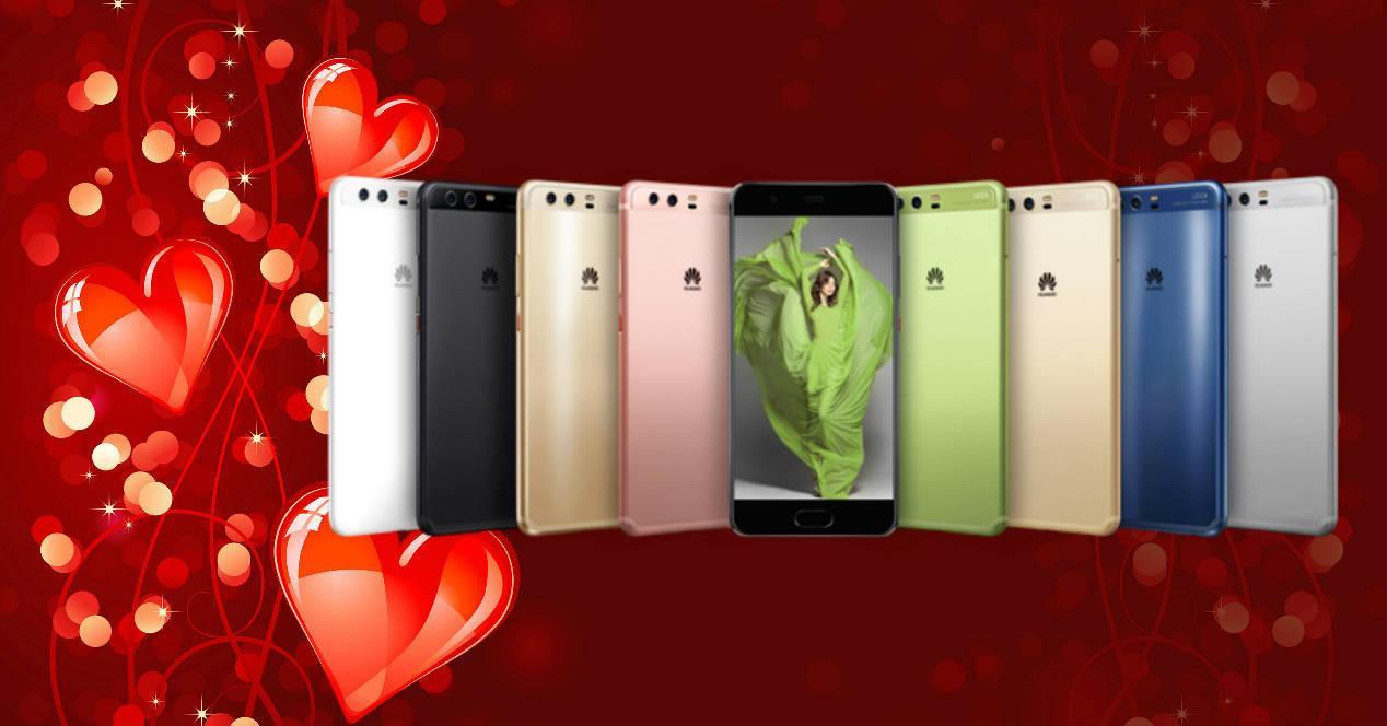 Huawei San Valentin