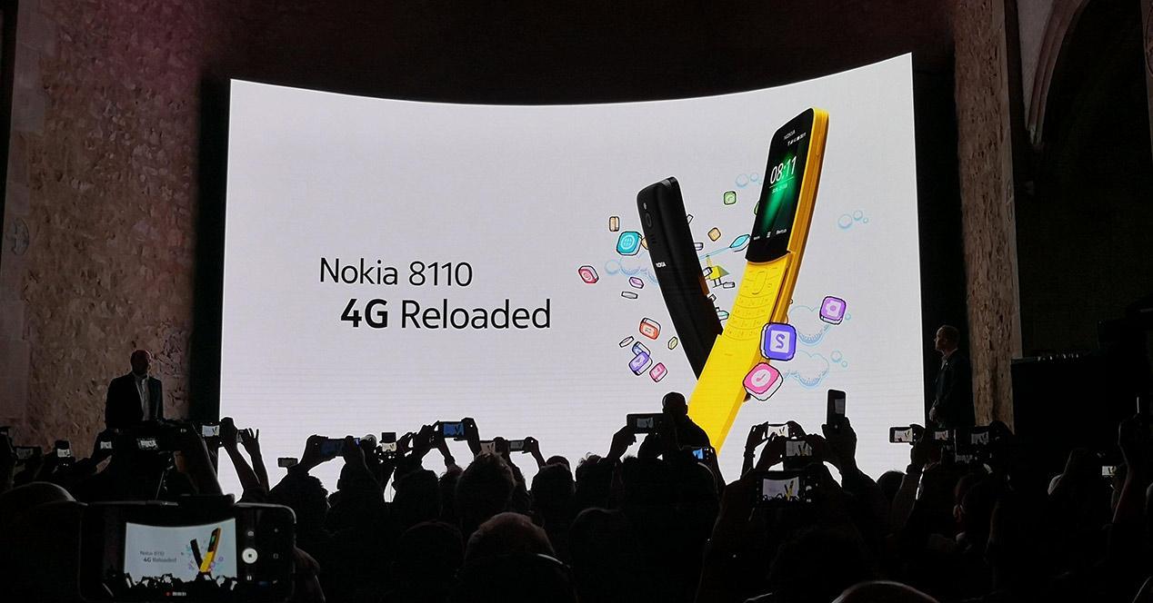 Presentación oficial del Nokia 8110 4G