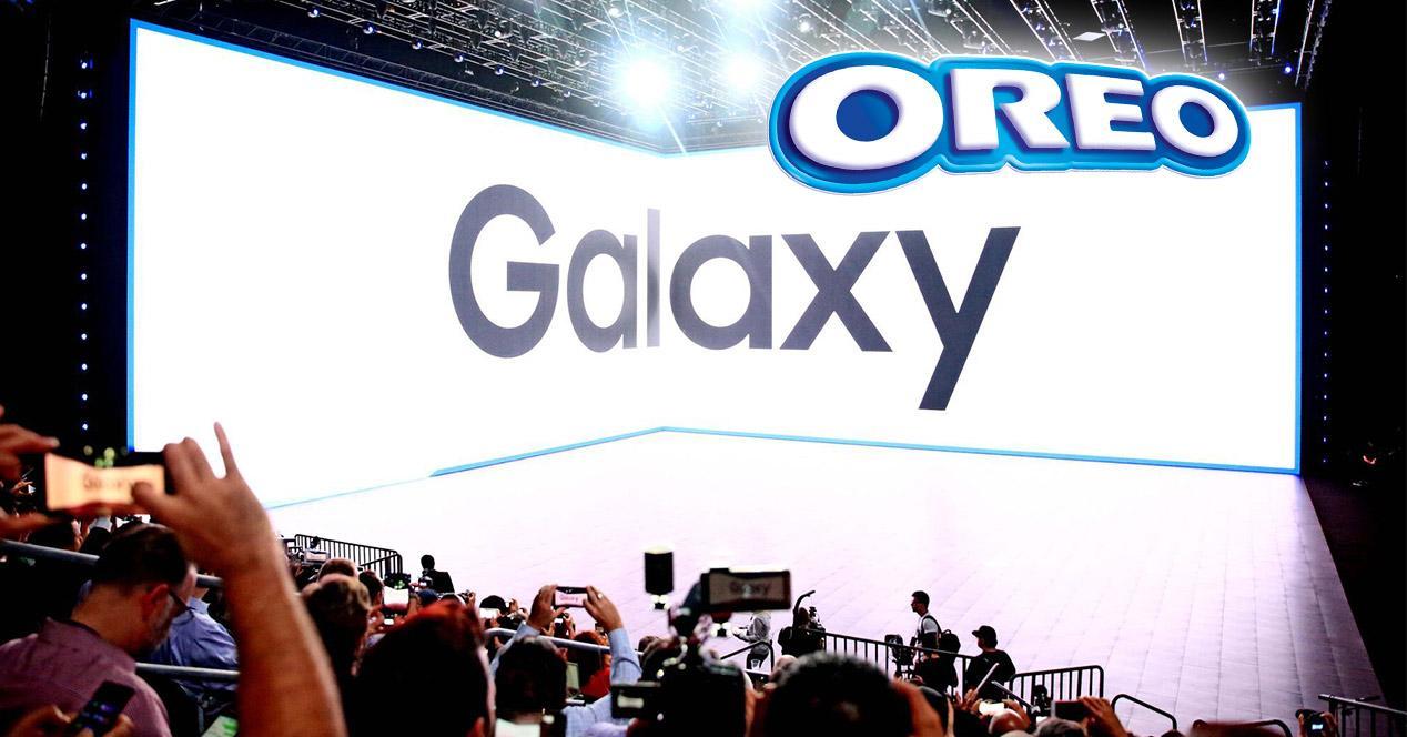 Modelos Samsung Galaxy con Android Oreo